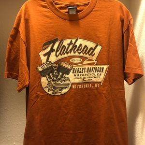 Harley Davidson Motorcycle Shirt